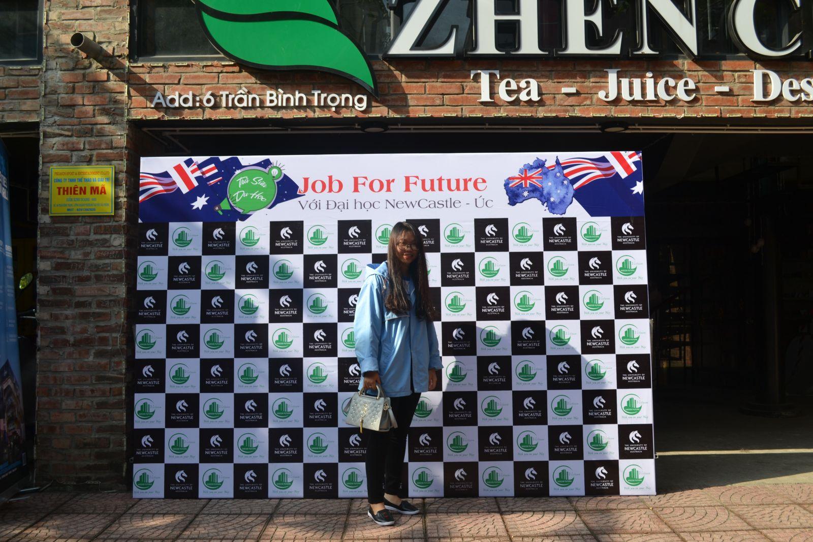 Trà sữa du học số 2: JOB FOR FUTURE